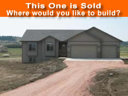 New Home Builder and Lots Rapid City, SD