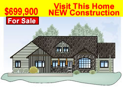 New Home Construction,  Rapid City by Kaski Homes, Inc.