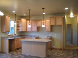 Plenty of Kitchen Lighting