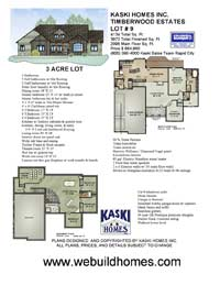 Kaski New Home Features - 4134 Total Sq. Ft.